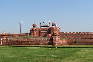 The Red Fort, Delhi.