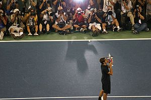 Roger Federer - 2007 US Open Champion