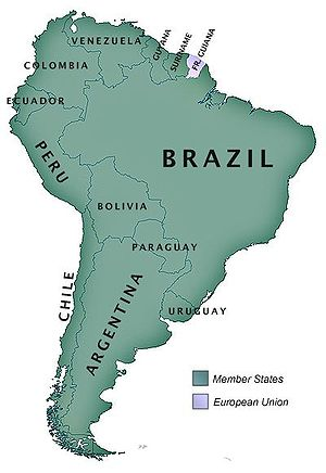 South American Community of Nations member states.