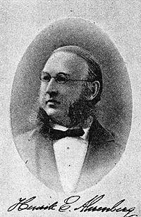Henrik E Ahrenberg