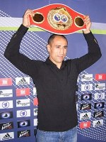 Box champion Arthur Abraham in Bamberg in Octo...