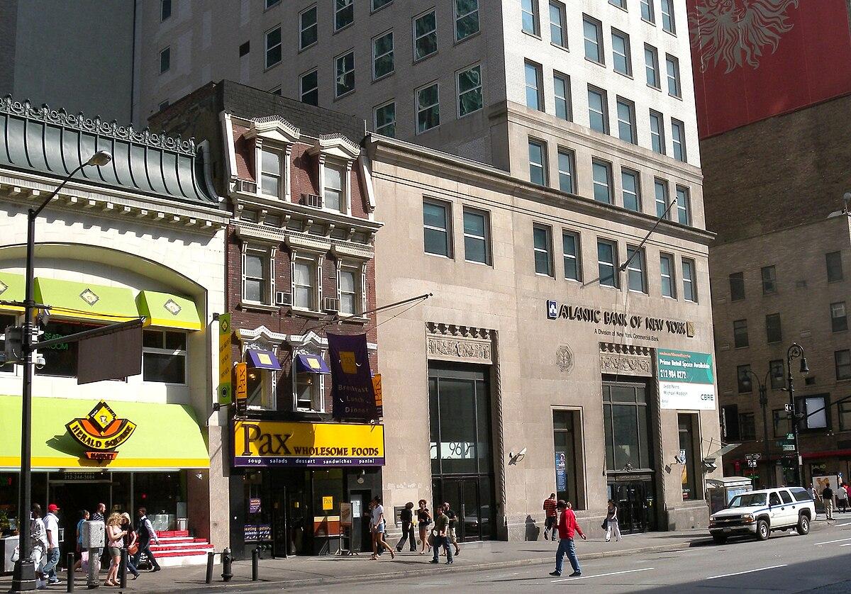 Atlantic Bank Of New York Wikipedia