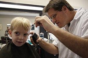 """""""Boy Meets Barber"""" O'Fallon, Illinoi..."""