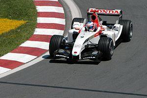 Jenson Button second corner