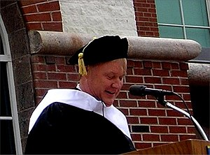 Chris Matthews at Quinnipiac University Commen...