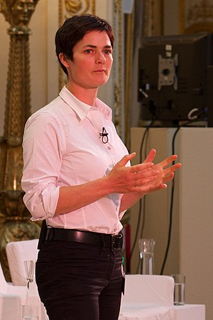 Dame Ellen MacArthur. Photo by Laura Kidd.