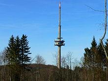 Fernmeldeturm Habichtswald auf dem Essigberg im Hohen Habichtswald