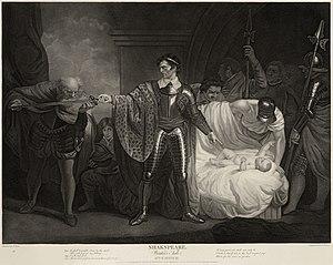 Winter's Tale, Act II, scene III, (engraving a...