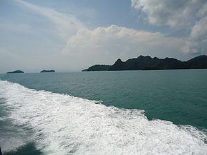 LANGKAWI TO PENANG ISLAND BOATING - Malaysia