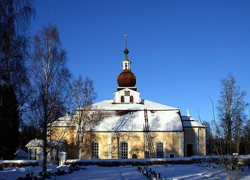 Leksands kyrka. Foto Jan Ainali, licens CC-BY-SA-3.0