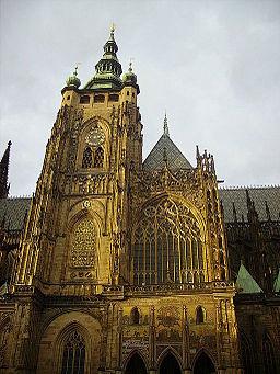 Prag Dom St. Vitus Turm 3