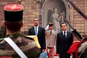 President Barack Obama and France's President ...