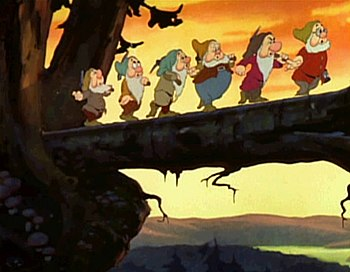 """The famous """"Heigh-Ho"""" sequence from ..."""