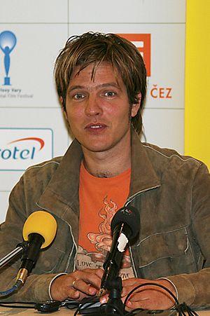 English: Thomas Vinterberg at 40th Karlovy Var...