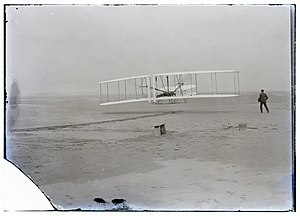 5×7 in. unretouched photograph of the Wright b...