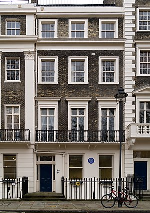 English: 46 Gordon Square, London (United King...