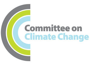 English: Logo of the Committee on Climate Change