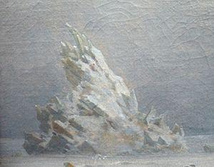 Deutsch: Detail aus dem Gemälde das Eismeer