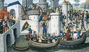 ConquestOf Constantinople By The Crusaders In 1204