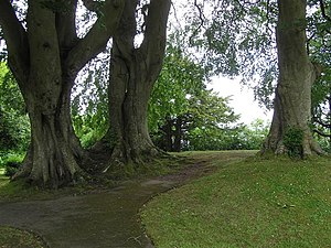 English: Fort Hill Park, Enniskillen It is a c...
