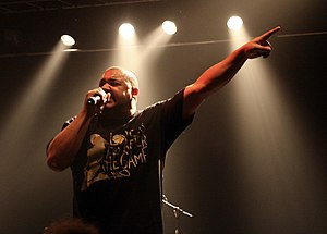 Joell Ortiz performing in Amager Bio, Denmark.