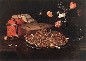 Recco, Giuseppe - Still-life with the Five Sen...