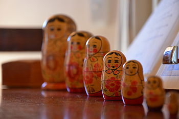 English: Russian Dolls