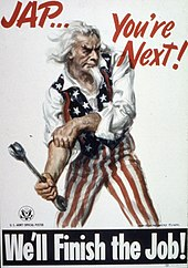 Uncle Sam holding a spanner, rolling up his sleeves