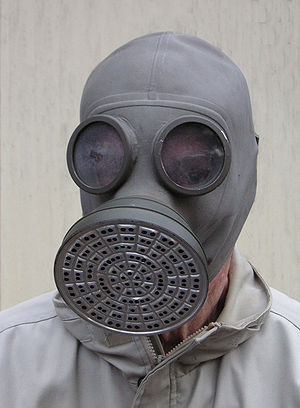 Finnish civilian gas mask from 1939.