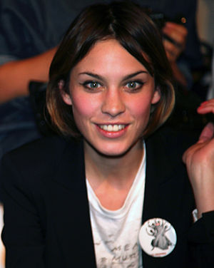 Alexa Chung at the Twenty8Twelve fashion show
