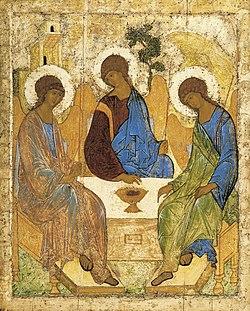 Andrej Rublev, Trinità dell'Antico Testamento