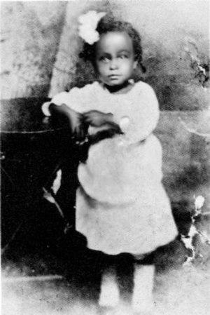 Billie Holiday child, toward 1917 (unknown pho...