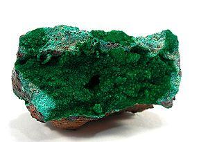 Conichalcite :: Locality: Tintic Standard Mine...