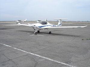 English: Diamond Katana aircraft owned by Amer...