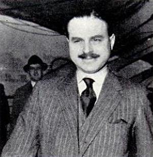 Ernest Simpson, former husband of Wallis, the ...