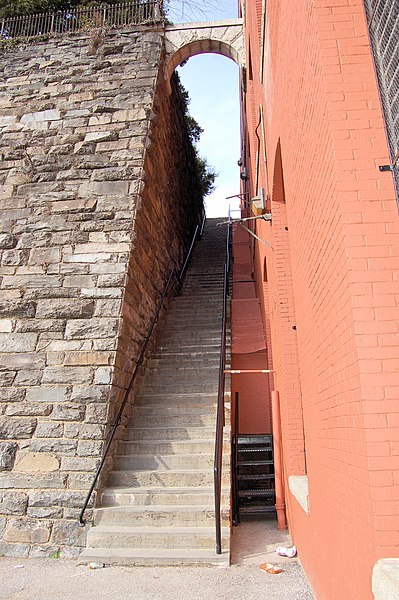 The Exorcist Steps at 36th and M in Georgetown