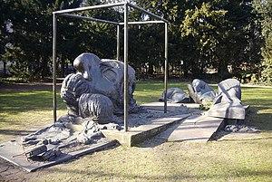 Heine monument in Düsseldorf
