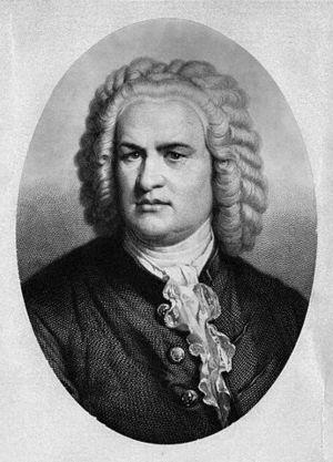 Español: Retrato del músico Johann Sebastian Bach.