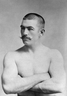 American boxer John Lawrence Sullivan