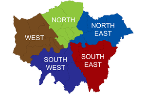 Sub regions of Greater London established in 2008