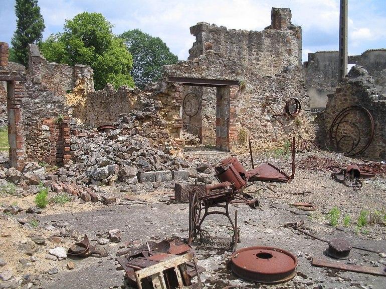 Image result for Oradour-Sur-Glane – France