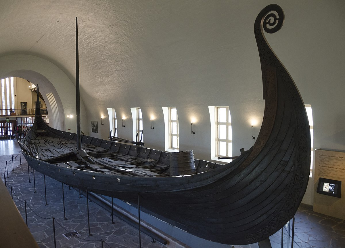 Blueprints Of A Viking Boat