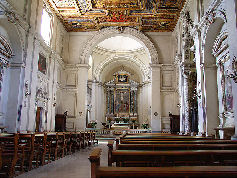 File:San Sebastiano fuori le mura Interior.jpg