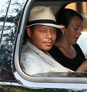 Terrence Howard at the 2007 Toronto Internatio...