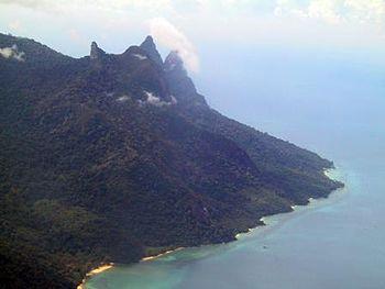 English: Tioman Island, Malaysia, by Andrew Lih