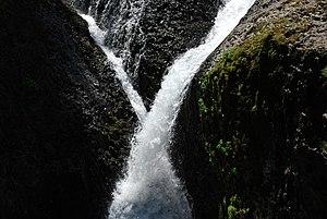 English: Twister Falls, a waterfall in Hood Ri...