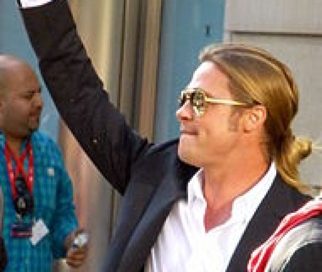 Brad Pitt At The Premiere Of  Years A Slave