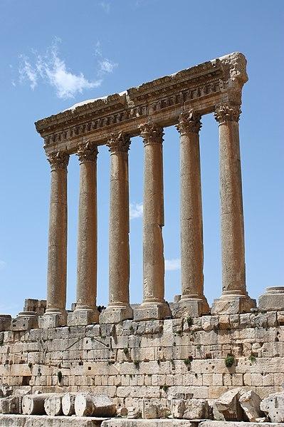 File:Baalbek - temple of Jupiter.jpg