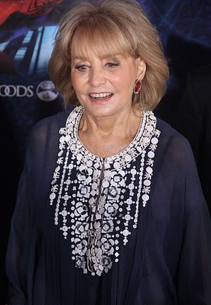 English: Barbara Walters at the Spiderman: Tur...