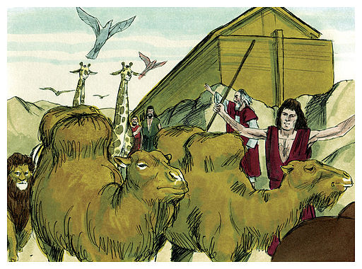 Book of Genesis Chapter 8-12 (Bible Illustrations by Sweet Media)